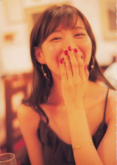 Former NMB48 Miyuki Watanabe Milky as an adult090