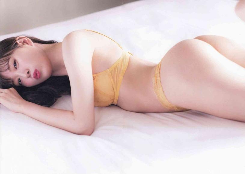 Former NMB48 Miyuki Watanabe Milky as an adult098