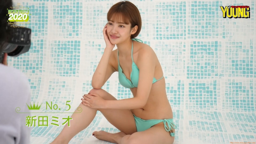 Miss Magazine 2020 Mio Nitta Introduction Video Swimsuit037