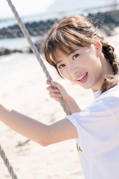 Swimsuit shot at Taina Rina Resort Chijima061