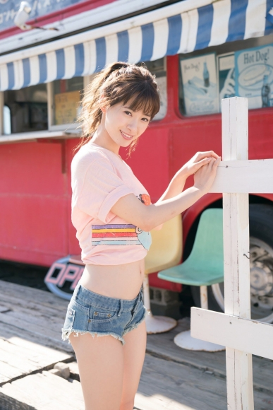 Swimsuit shot at Taina Rina Resort Chijima080