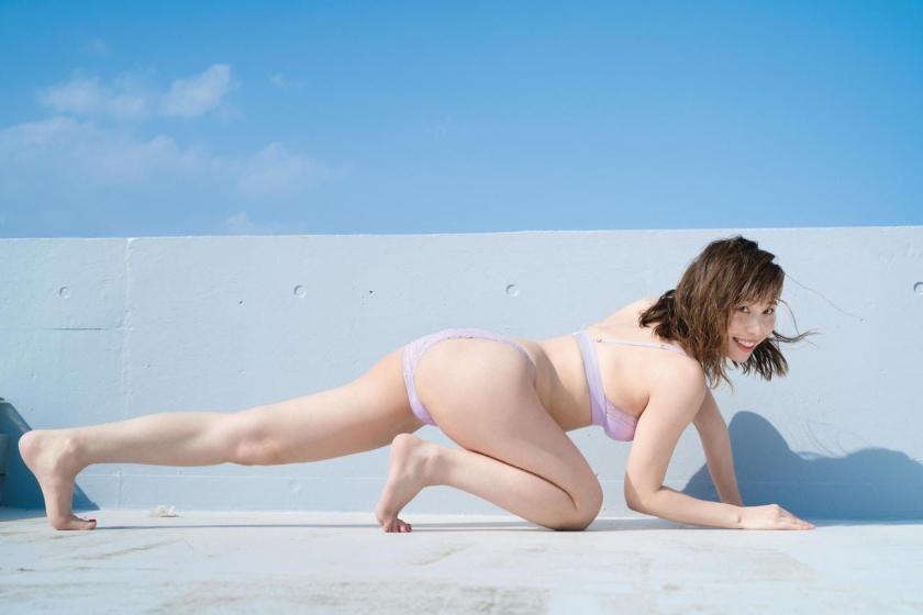 Misumi Shioji Underwear lingerie gravure maximum exposure004
