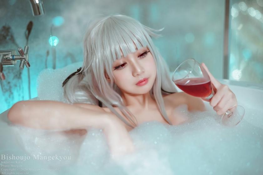 Beautiful girl kaleidoscope012
