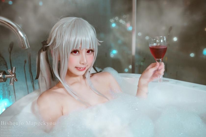 Beautiful girl kaleidoscope016