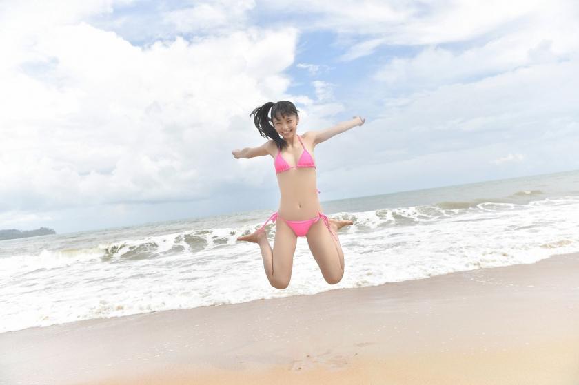 Sena Tsurumaki Swimsuit Gravurehh027