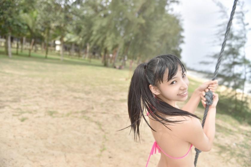 Sena Tsurumaki Swimsuit Gravurehh032