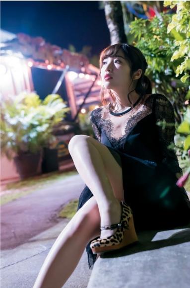 Moe Toyoda Swimsuit gravure033