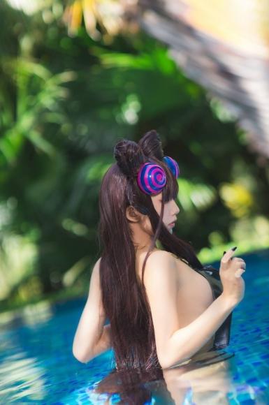 Mizuyon aqua purple Shikibu swimsuit021