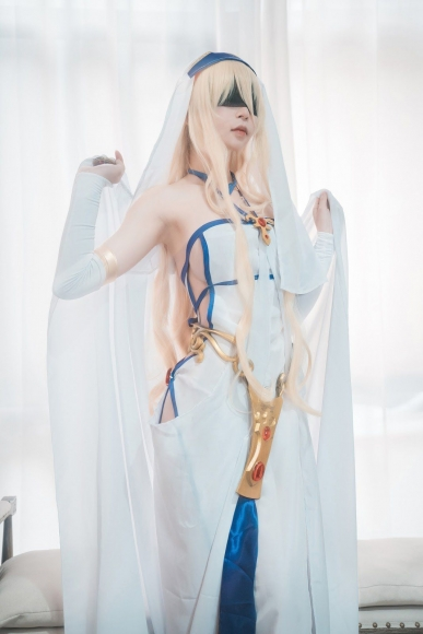 Cosplay Goblin SlayerSword Lady015