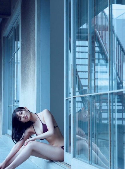 Mao Sakurada Swimsuit Gravure Bikini Image I lost weight with Wii Fit T003