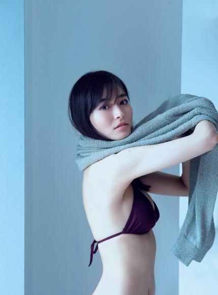Mao Sakurada Swimsuit Gravure Bikini Image I lost weight with Wii Fit T002
