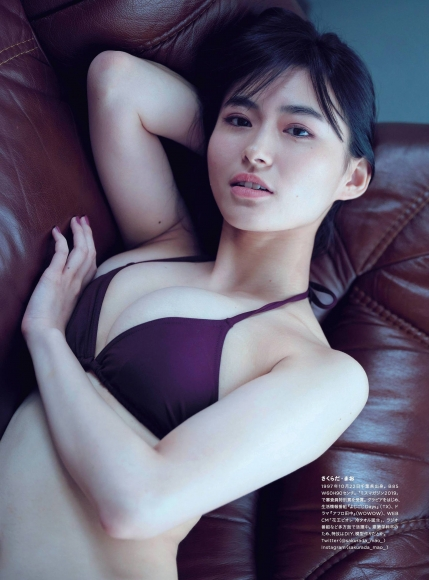 Mao Sakurada Swimsuit Gravure Bikini Image I lost weight with Wii Fit T008