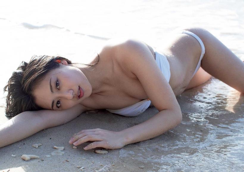 From Sentai Heroine to Authentic Actress Beautiful Body Kazusa Okuyama004