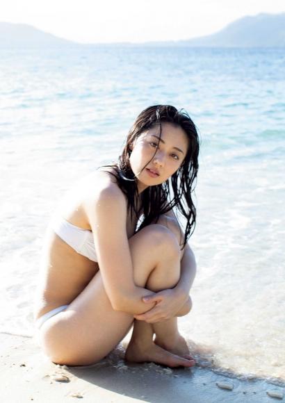 From Sentai Heroine to Authentic Actress Beautiful Body Kazusa Okuyama008