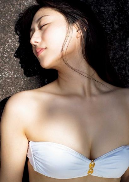 From Sentai Heroine to Authentic Actress Beautiful Body Kazusa Okuyama012
