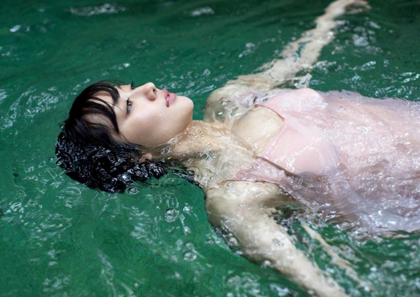 From Sentai Heroine to Authentic Actress Beautiful Body Kazusa Okuyama039