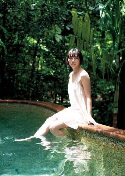 From Sentai Heroine to Authentic Actress Beautiful Body Kazusa Okuyama041