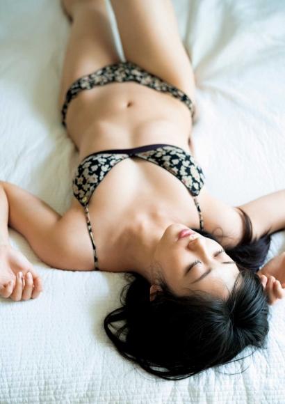 From Sentai Heroine to Authentic Actress Beautiful Body Kazusa Okuyama045