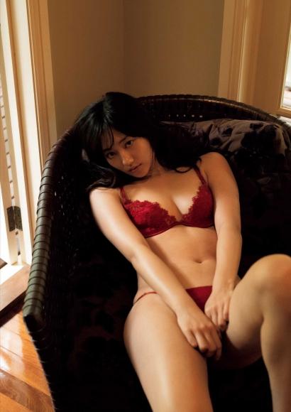 From Sentai Heroine to Authentic Actress Beautiful Body Kazusa Okuyama056