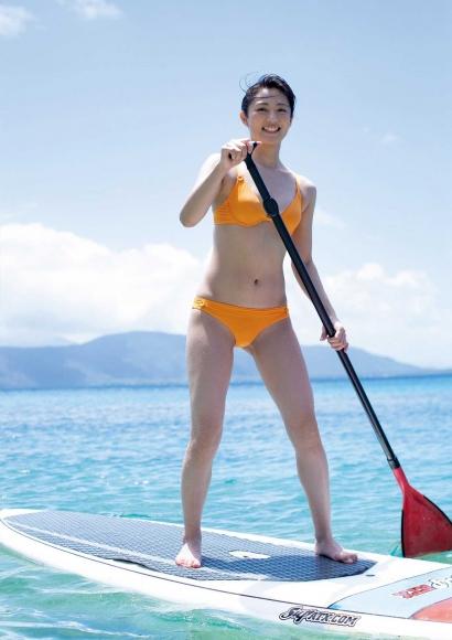 From Sentai Heroine to Authentic Actress Beautiful Body Kazusa Okuyama072
