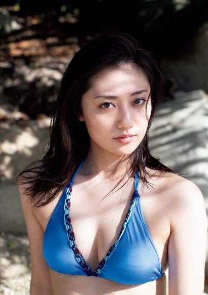 From Sentai Heroine to Authentic Actress Beautiful Body Kazusa Okuyama073