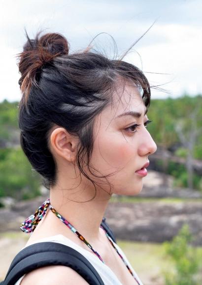 From Sentai Heroine to Authentic Actress Beautiful Body Kazusa Okuyama092