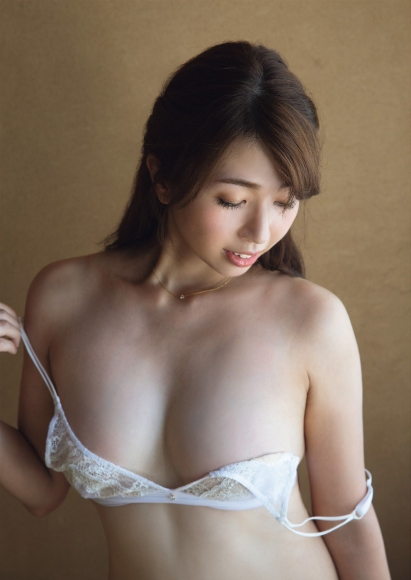 Tokai NO1 Big Breasts Beauty Caster Kayo Sugimoto G Cup Breasts First Complete Nude003