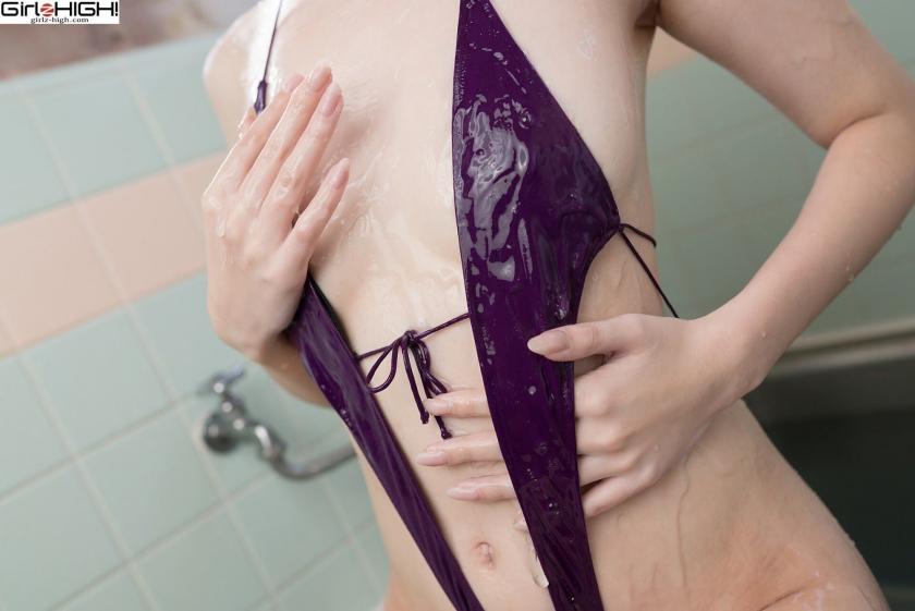 Mai Nanase V Front Deformation Swimsuit032