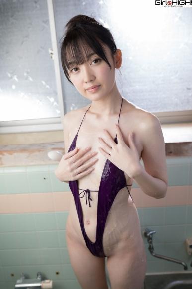 Mai Nanase V Front Deformation Swimsuit033