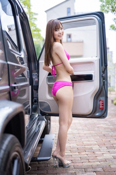 Aono Akane is a car in a swimsuit003