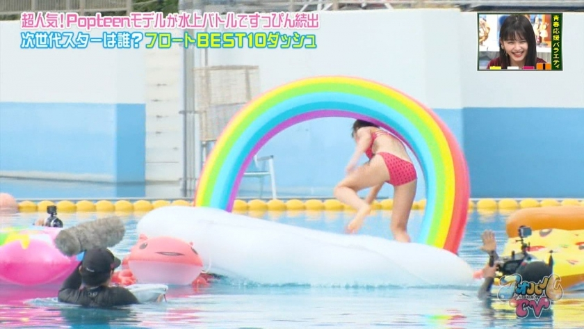 Aoharu TV_Swimming TournamentModelSwimsuit_TV Cap Image041