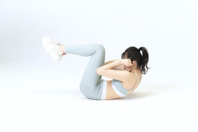 Yuka Ogura Muscle Exercise004