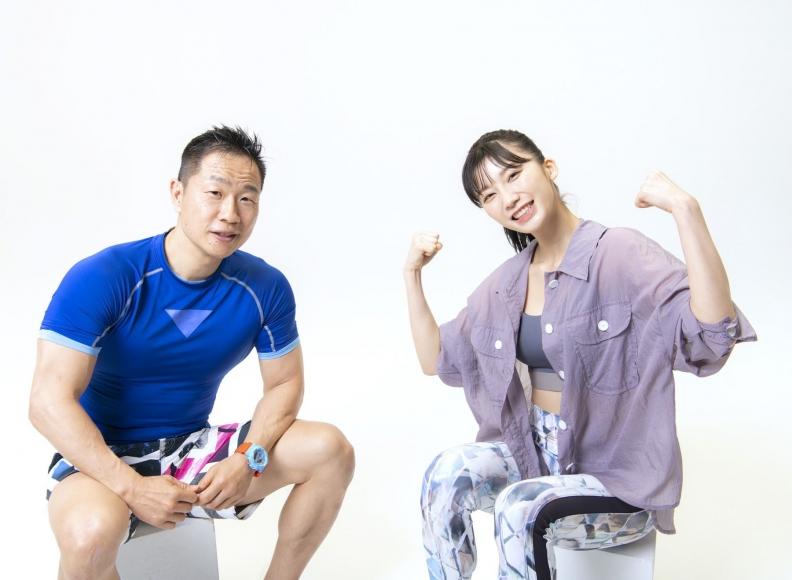 Yuka Ogura Muscle Exercise019