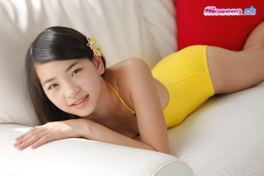 Miran Shimizu Swimsuit Gravure017
