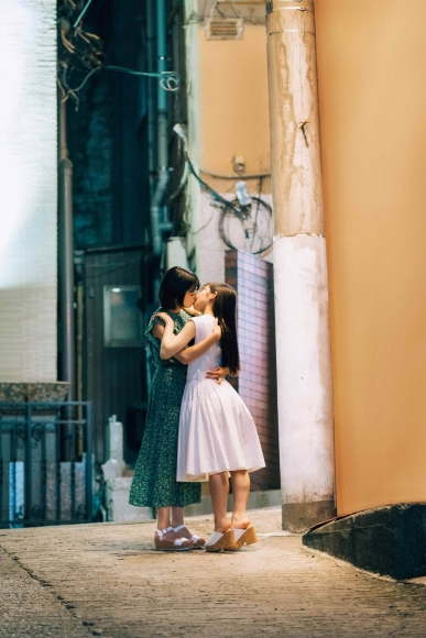 PINOCO Banpaia street kiss lily scene show008