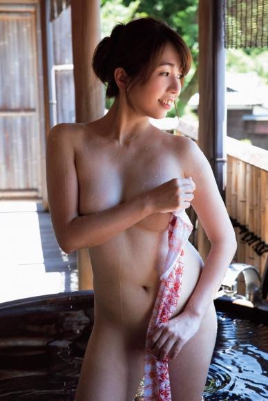 Former Shizuoka Broadcastings popular caster Kayo Sugimoto shock complete nude005