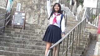 Miss Magazine 2019 Grand Prix Runa Toyoda Gravure Swimsuit Image Runchan Seto Inland Sea! Youth Gravure Around Your Hometown! Original Experience 2020032