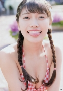 Maneki Kecaks center girl strongest beauty goddess advent Reona Matsushita gravure swimsuit image004