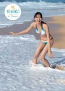 Asuka Kawazu Gravure swimsuit imageLocation is Hawaii! Innocent and innocent 20 years old2020001