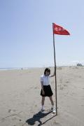 18 members of uniform beautiful girls top system Hazuki Kimura gravure swimsuit image055