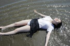 18 members of uniform beautiful girls top system Hazuki Kimura gravure swimsuit image062