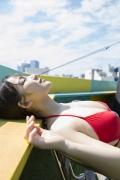 Jun Amaki in a swimsuit and sauna010
