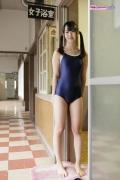 Yuri Sawai School swimsuit001