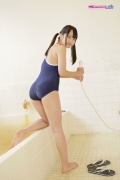 Yuri Sawai School swimsuit026
