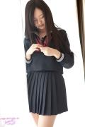 Mayumi Yamanaka gravure swimsuit image active high school girl uniform girl036