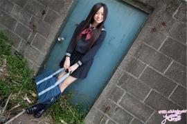 Mayumi Yamanaka gravure swimsuit image active high school girl uniform girl050