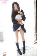 Mayumi Yamanaka gravure swimsuit image active high school girl uniform girl054