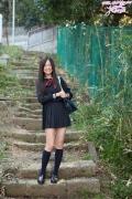 Mayumi Yamanaka gravure swimsuit image active high school girl uniform girl056
