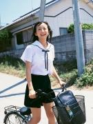 18 year old summer Ayaka Komatsu gravure swimsuit image036