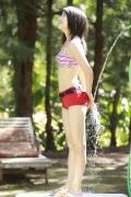 All 15 year old girl Kawashima Umika gravure swimsuit image029